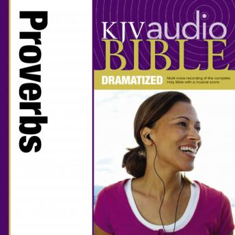 KJV, Audio Bible, Dramatized: Proverbs, Audio Download, Zondervan Publishing