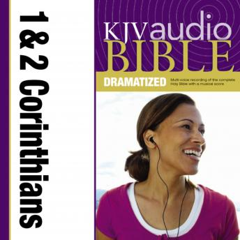 KJV, Audio Bible, Dramatized: 1 and 2 Corinthians, Audio Download, Zondervan Publishing