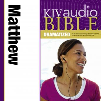 KJV Audio Bible, Dramatized: Matthew, Zondervan Publishing