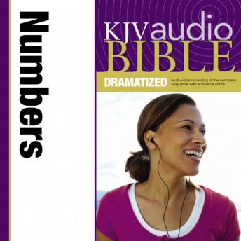 KJV, Audio Bible, Dramatized: Numbers, Audio Download, Zondervan Publishing