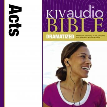 KJV, Audio Bible, Dramatized: Acts, Audio Download, Zondervan Publishing