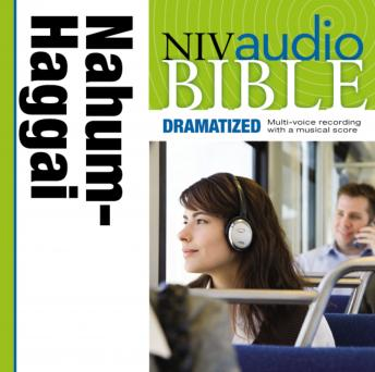 NIV Audio Bible, Dramatized: Nahum, Habakkuk, Zephaniah, and Haggai, Zondervan Publishing