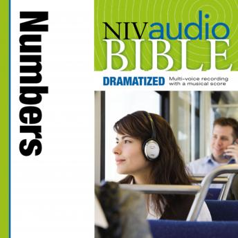 NIV, Audio Bible, Dramatized: Numbers, Audio Download, Zondervan