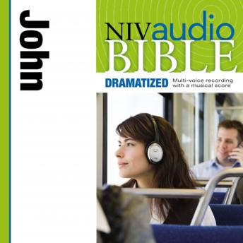 NIV, Audio Bible, Dramatized: John, Audio Download, Zondervan
