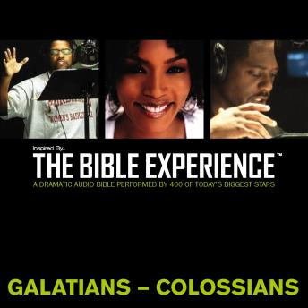 TNIV, Inspired By…The Bible Experience: Galatians- Colossians, Audio Download, Zondervan Publishing
