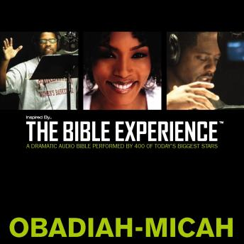 TNIV, Inspired By…The Bible Experience: Obadiah - Micah, Audio Download, Zondervan Publishing