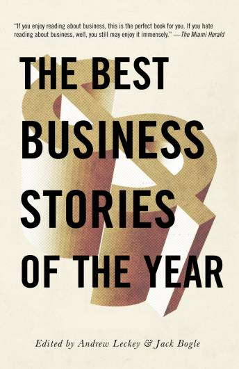Best Business Stories of the Year 2001, Andrew Leckey