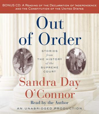 Out of Order, Sandra Day O'Connor