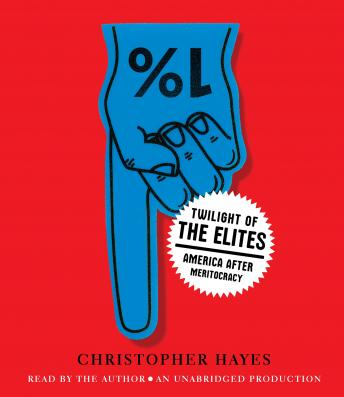 Twilight of the Elites: America After Meritocracy, Chris Hayes