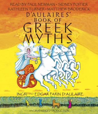 D'Aulaires' Book of Greek Myths sample.