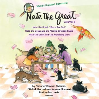 Nate the Great Collected Stories: Volume 5: Nate the Great, Where Are You?; Nate the Great and the Missing Birthday Snake; Nate the Great and the Wandering Word