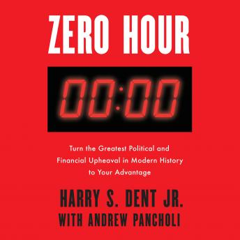 Zero Hour: Turn the Greatest Political and Financial Upheaval in Modern History to Your Advantage, Jr. Harry S. Dent, Andrew Pancholi