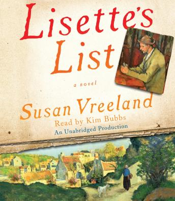 Lisette's List: A Novel, Susan Vreeland