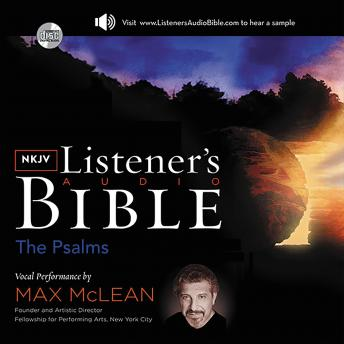 The Listener's Audio Bible - King James Version, KJV: New Testament: Vocal Performance by Max McLean