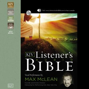 The Listener's Audio Bible - King James Version, KJV: Old Testament: Vocal Performance by Max McLean