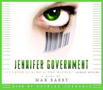 Download Jennifer Government: A Novel by Max Barry