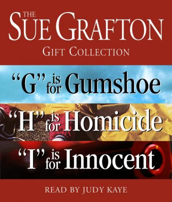 Sue Grafton GHI Gift Collection: 'G' Is for Gumshoe, 'H' Is for Homicide, 'I' Is for Innocent