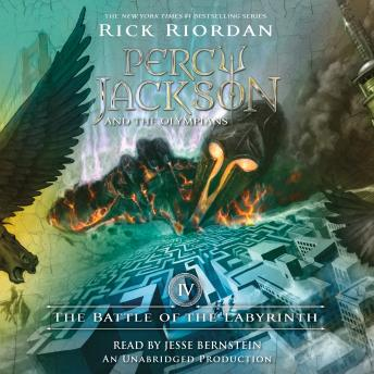 Download Battle of the Labyrinth: Percy Jackson and the Olympians, Book 4 by Rick Riordan