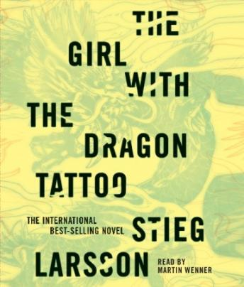 Girl With the Dragon Tattoo, Stieg Larsson