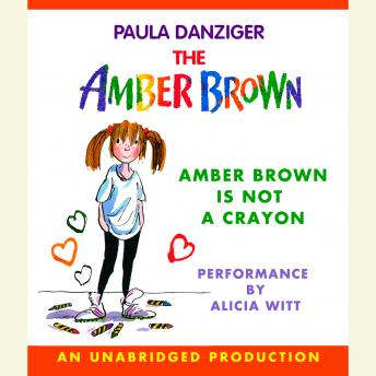 Amber Brown Is Not a Crayon, Paula Danziger