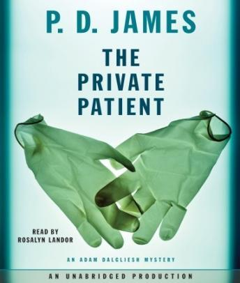 Private Patient, P. D. James