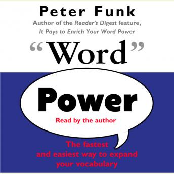 Word Power, Peter Funk