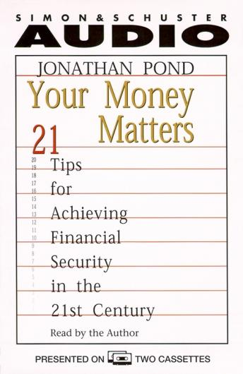 Your Money Matters, Jonathan Pond