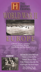 World War II: Europe: A History Channel Audiobook