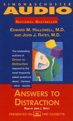 Answers to Distraction, John J. Ratey, Edward M. Hallowell