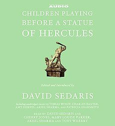 Children Playing Before a Statue of Hercules, Various Artists, David Sedaris