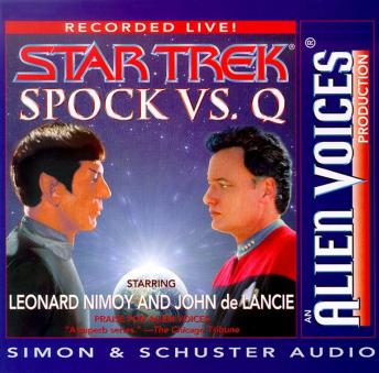 Spock Vs Q sample.