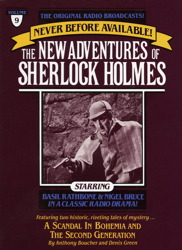 Scandal in Bohemia and The Second Generation: The New Adventures of Sherlock Holmes, Episode #9, Denis Green, Anthony Boucher