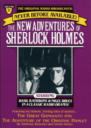 Great Gondolofo and The Adventure of the Original Hamlet: The New Adventures of Sherlock Holmes, Episode #21, Anthony Boucher