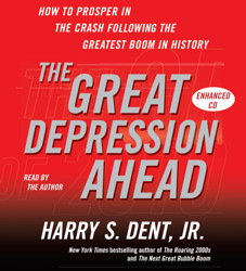 Great Depression Ahead: How to Prosper in the Crash That Follows the Greatest Boom in History sample.