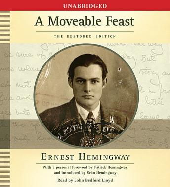 Download Moveable Feast: The Restored Edition by Ernest Hemingway