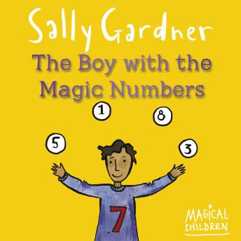 Boy with  Magic Numbers