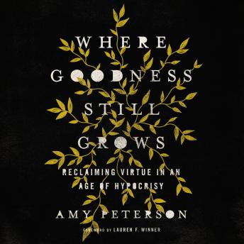 Download Where Goodness Still Grows: Reclaiming Virtue in an Age of Hypocrisy by Amy Peterson