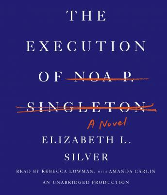 Execution of Noa P. Singleton: A Novel, Elizabeth L. Silver