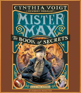 Mister Max: The Book of Secrets: Mister Max 2, Cynthia Voigt