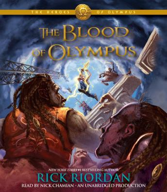 Heroes of Olympus, Book Five: The Blood of Olympus, Rick Riordan