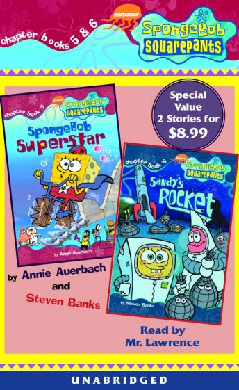 Spongebob Squarepants: Books 5 & 6: #5: SpongeBob Superstar; #6: Sandy's Rocket