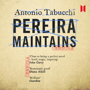 Pereira Maintains, Antonio Tabucchi