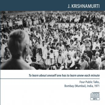Love is that quality of mind in which there is no division: Bombay (Mumbai) 1971 - Public Talk 3, Jiddu Krishnamurti