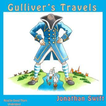 Gulliver's Travels, Audio book by Jonathan Swift