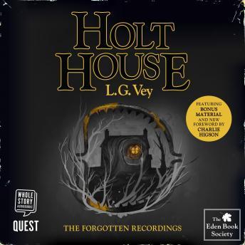 Holt House: The Eden Book Society