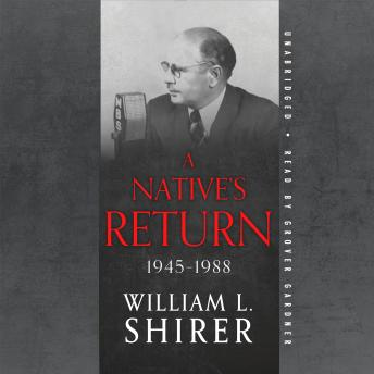 Download Native's Return, 1945–1988 by William L. Shirer