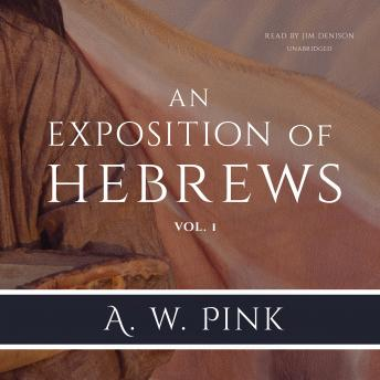 An Exposition of Hebrews, Vol. 1