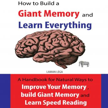 How to Build a Giant Memory and Learn Everything: A handbook Natural Ways to Improve Your Memory , build Giant Memory and Learn Speed Reading
