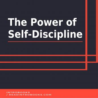 Download Power of  Self-Discipline by Introbooks