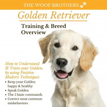 Download Golden Retriever Training & Breed Overview: How to Understand & Train your Golden, by using Positive Modern Techniques by The Woof Brothers